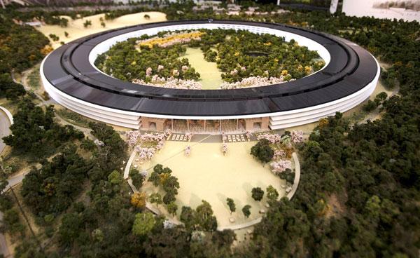 Conselho municipal de Cupertino autoriza a construção do campus da Apple em forma de nave espacial