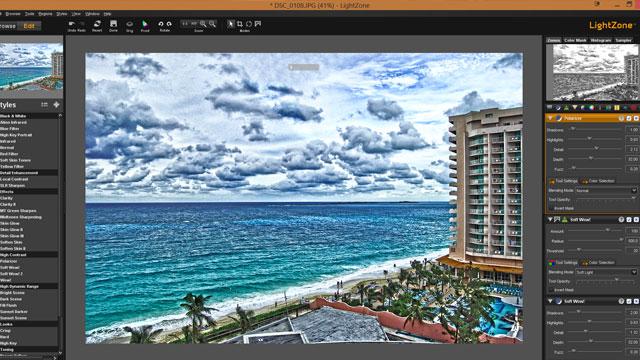 LightZone é uma ótima alternativa gratuita ao Adobe Lightroom