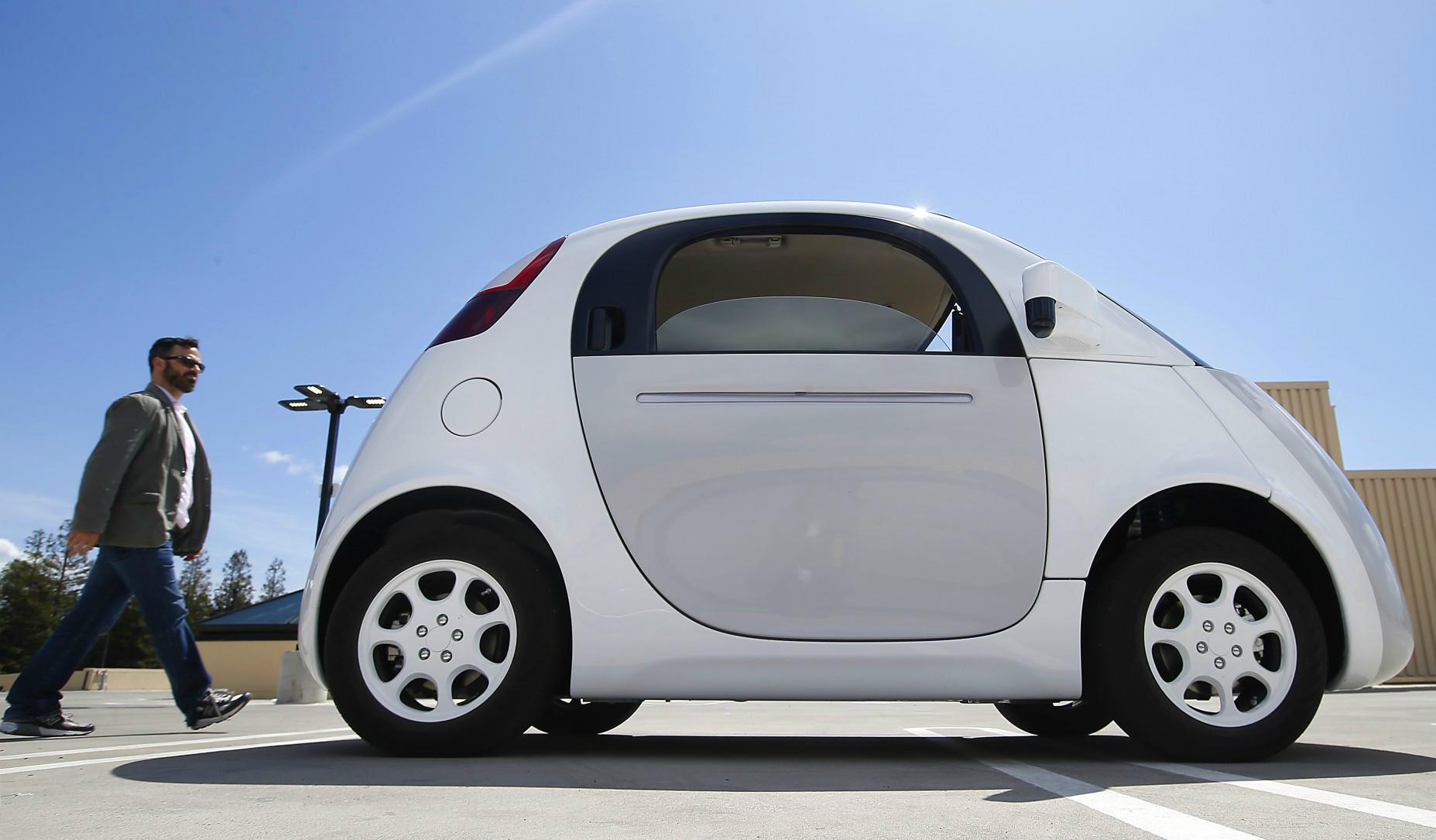 O problema dos carros do Google: Humanos