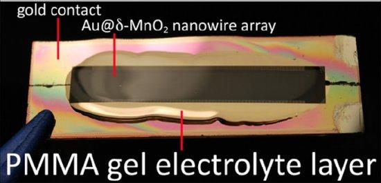 Bateria de nanofios nunca precisaria ser trocada