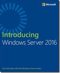 E-Book gratuito: Introducing Windows Server 2016