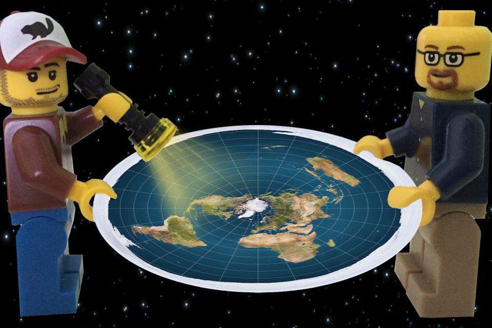 Os Satélites e a Terra Plana